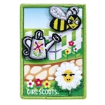 Daisy Garden Journey Award Patch Set