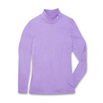 Mock Neck Long-Sleeve Shirt - Orchid
