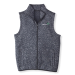 Heather Grey Knit Sleeveless Vest