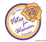 100 Years of Votes For Women - Suffrage Movement Centennial Patch