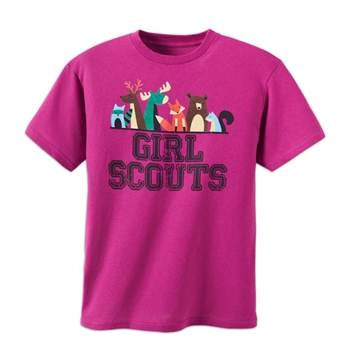 Girl Scouts Wildlife Animals T-Shirt