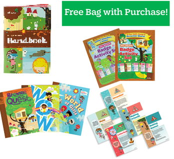My Girl Scout Kit - Brownie Book Bundle