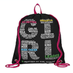 G.I.R.L. Girl Scout Drawstring Backpack