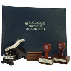 Deluxe Desk Seal Pkg with Reg. Stamps