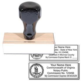 Regular State Seal Notary Stamp