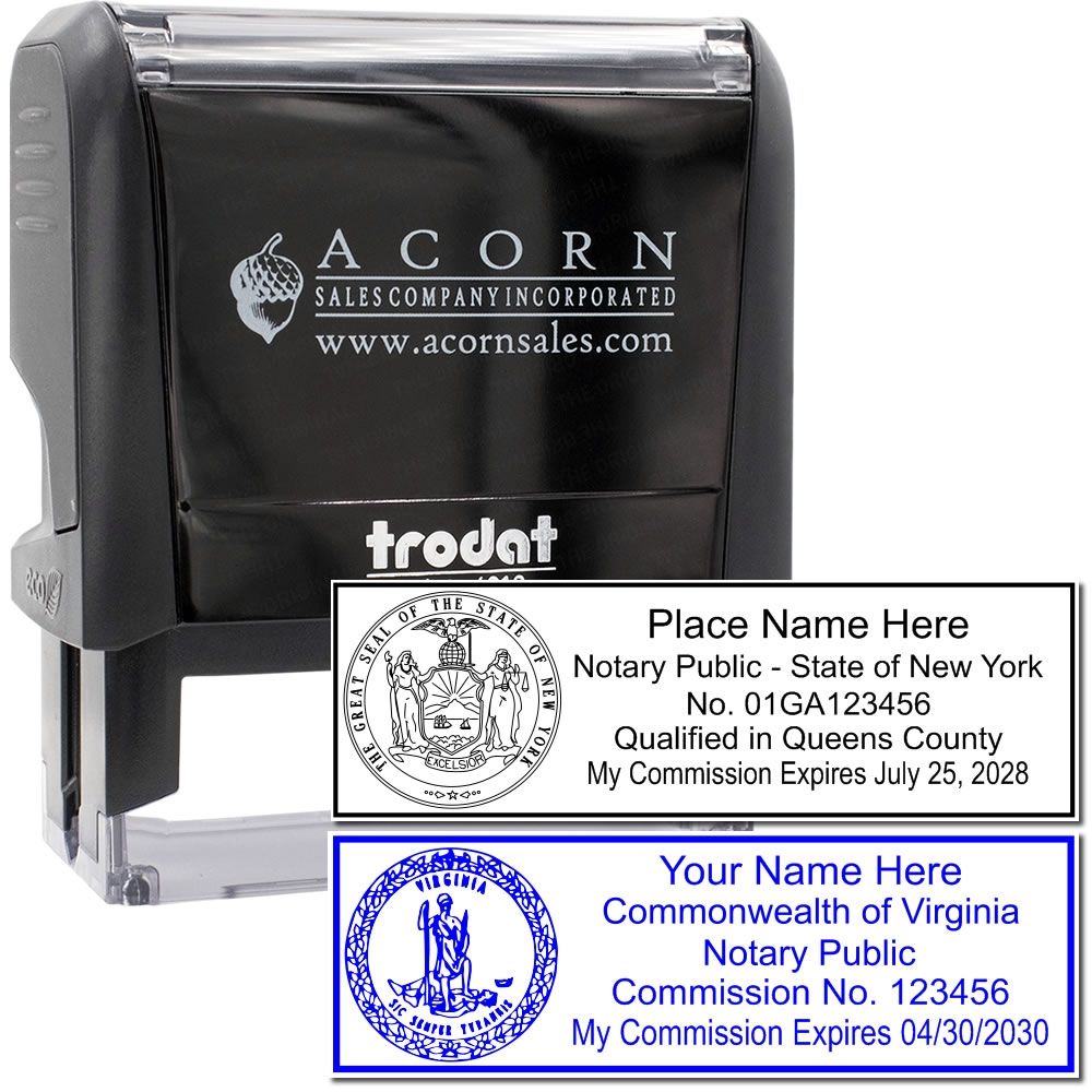self inking state seal notary stamp - online notary supply
