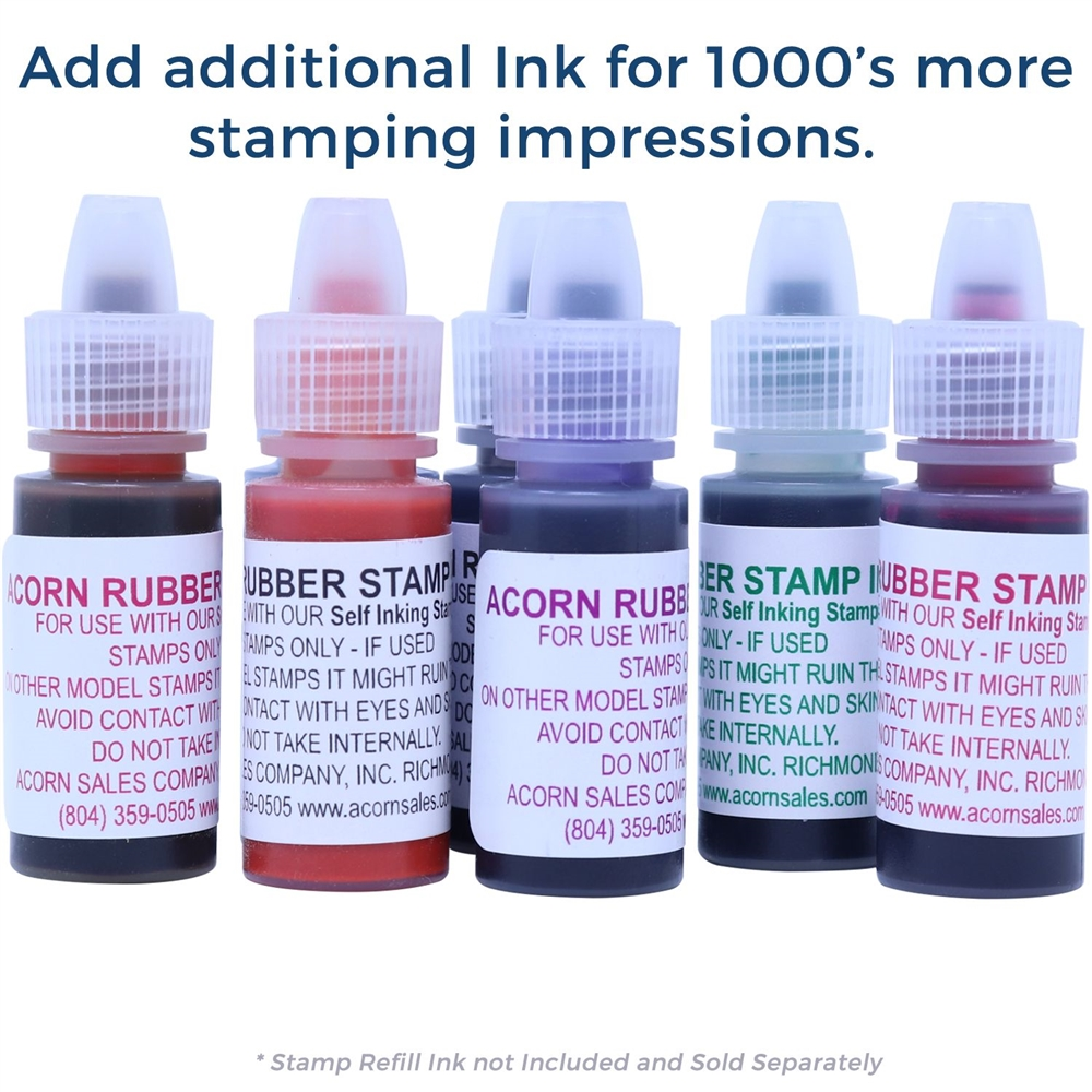 self inking state seal notary stamp online notary supply acorn sales