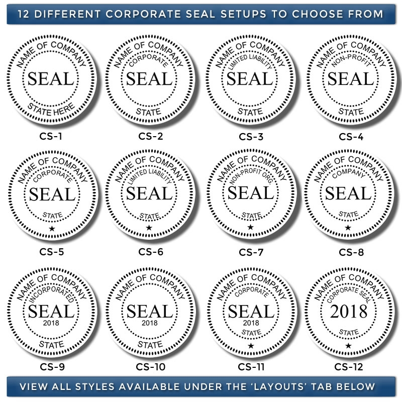 Electronic Corporate Seal Stamp Image | Electronic Corporate Seals