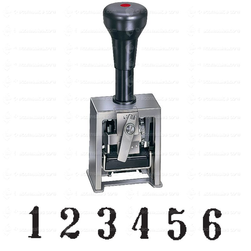 6 Digit Auto Numbering Stamp Automatic Number Stamp