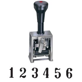 6 Digit Auto Numbering Stamp Model 18