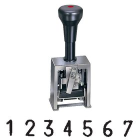 7 Wheel Reiner Numbering Machine Model 19-7