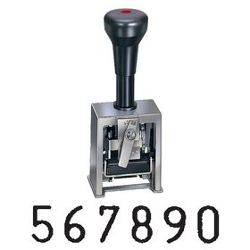 6 Wheel Number Stamping Machine Model 317