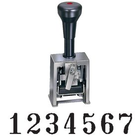 7 Wheel Numbering Stamp Machine Model 318