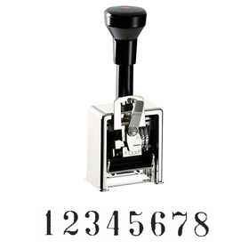 8 Wheel Auto Numbering Stamp Model 320