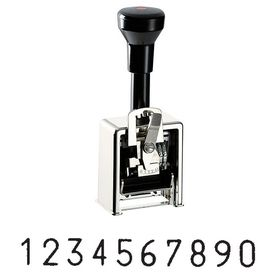 10 Wheel Heavy Duty Automatic Numbering Stamp Model 325