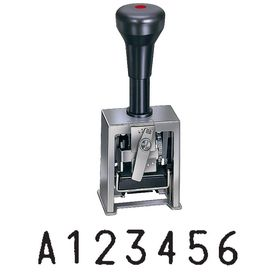 7 Digit Automatic Numbering Stamp Machine Model 7A