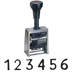 Economy Consecutive Number Stamp Model B6-533