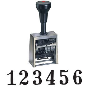 Economy Automatic Numbering Stamp Machine Model B6-534