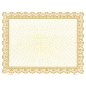 Goes 3911 Blank Printable Certificate