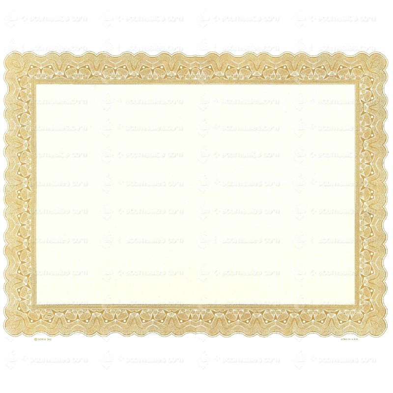 Shop Printable Blank Certificates  Goes  Certificate