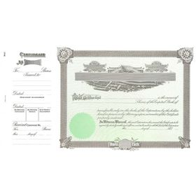 Goes 1 Corporate Stock Certificate