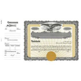 Goes 70 1/2 Stock Certificate