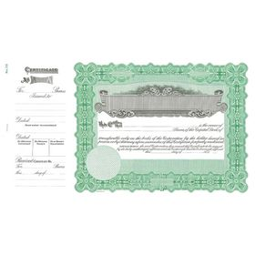 Goes 133 Stock Certificate