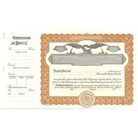 Goes 508 Stock Certificate