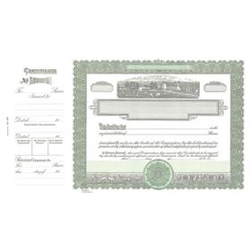 Goes 760 Stock Certificate