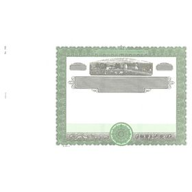 Goes 762 Printable Blank Stock Certificate