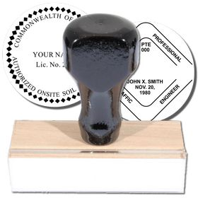 Professional Regular Rubber Stamp of Seal