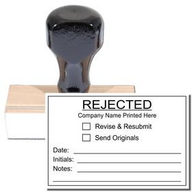 Regular Customized Rejected Stamp