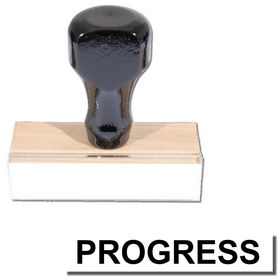 Regular Progress Stamp