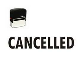 Self-Inking Cancelled Stamp