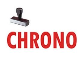 Chrono Rubber Stamp