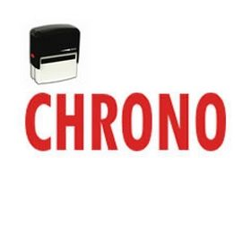 Self-Inking Chrono Stamp