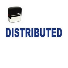 Self-Inking Distributed Stamp
