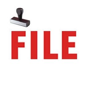 File Rubber Stamp