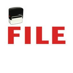 Self-Inking File Stamp