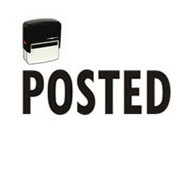 Self-Inking Posted Stamp