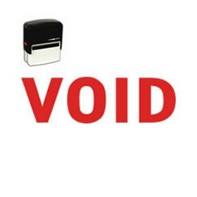 Self-Inking Business Void Stamp