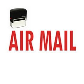 Self-Inking Air Mail Stamp