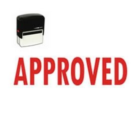 Self-Inking Approved Stamp