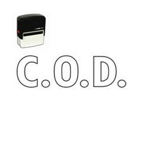 Self-Inking COD Stamp