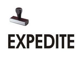 Expedite Rubber Stamp