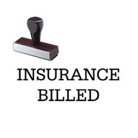 Insurance Billed Rubber Stamp