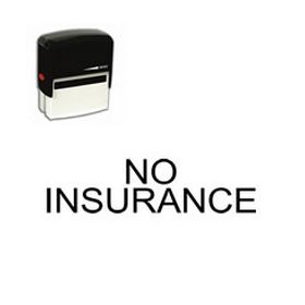 Self-Inking No Insurance Stamp