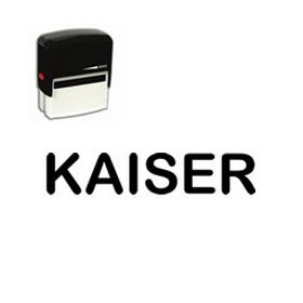 Self-Inking Kaiser Stamp