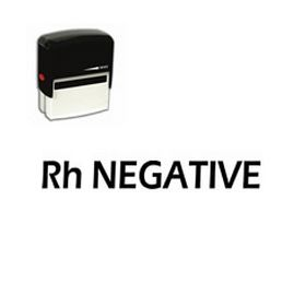 Self-Inking Rh Negative Doctor Office Stamp