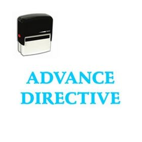 Self-Inking Advance Directive Stamp